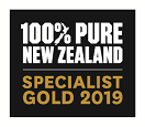 100% Pure New Zealand Specialist Gold 2018